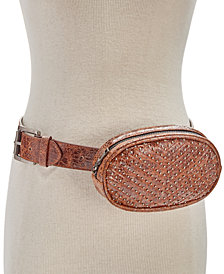 Steve Madden Studded Chevron-Quilted Fanny Pack