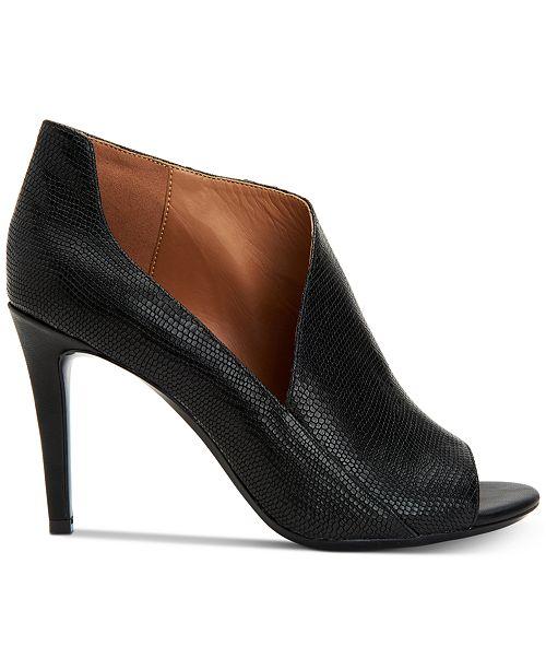 fccf1224074d Calvin Klein Women s Nastassia Ankle Booties   Reviews - Boots ...