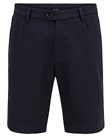 BOSS Men's Regular/Classic-Fit Chino Shorts