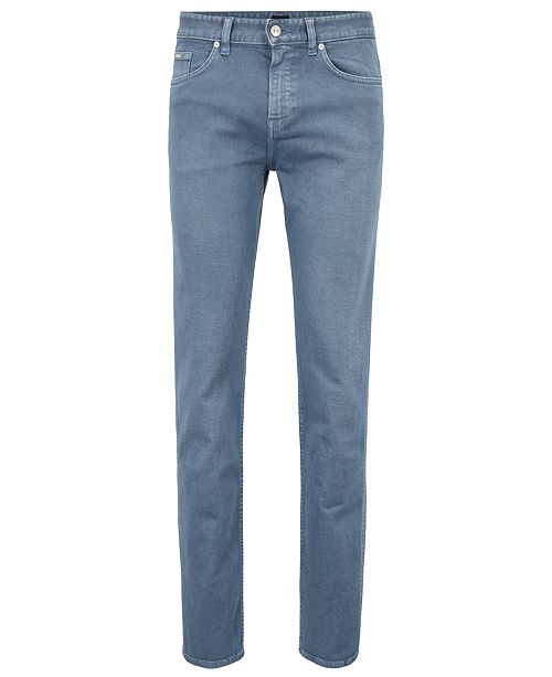 624d59fde49 Hugo Boss BOSS Men s Slim-Fit Stretch Denim Jeans - Jeans - Men - Macy s