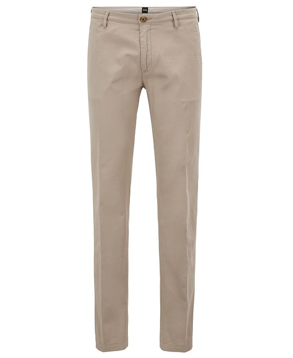 Hugo Boss BOSS Men's Slim-Fit Stretch Chino Pants