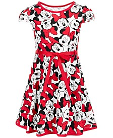 Little Girls Minnie Mouse Dress