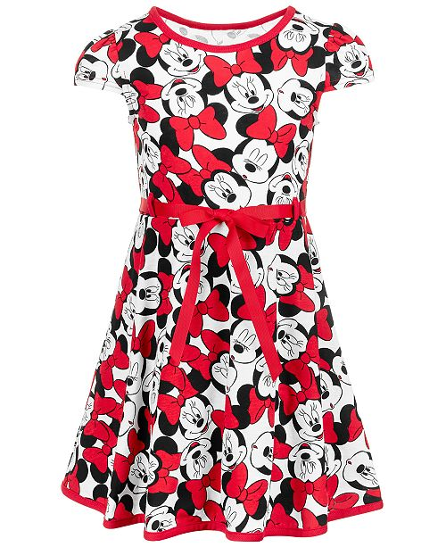 Disney Little Girls Minnie Mouse Dress