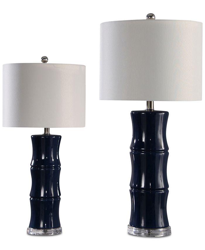 Abbyson Living - Pargo Table Lamps, Set of 2
