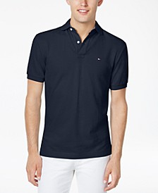 Men's Big & Tall Solid Classic Fit Ivy Polo