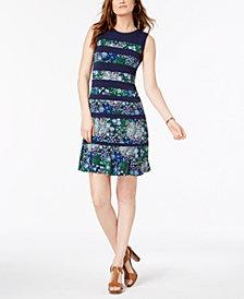 MICHAEL Michael Kors Paisley-Print Dress In Regular & Petite Sizes