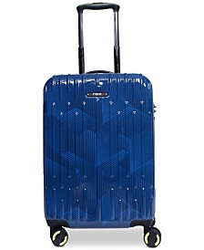 "Revo Rain 20"" Hardside Expandable Carry-On Spinner Suitcase, Created for Macy's"