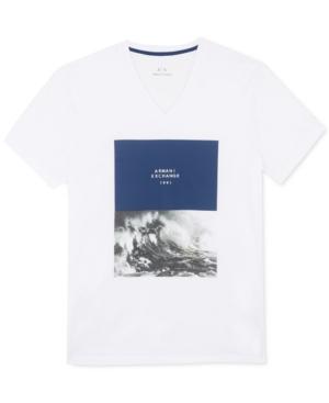 AX Armani Exchange Men's Graphic-Print T-Shirt