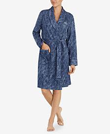 Lauren Ralph Lauren County Garden Printed Short Robe