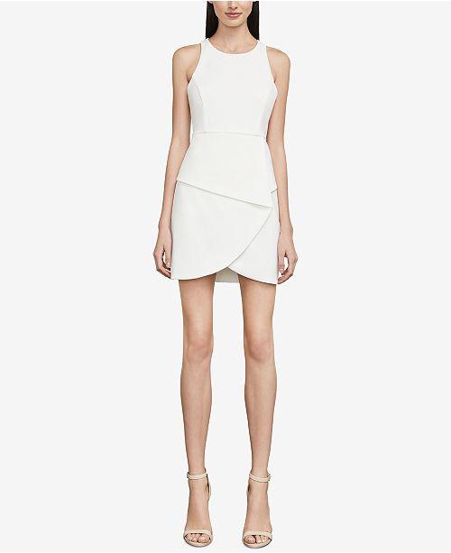 ff629845ab7 BCBGMAXAZRIA Ely Lace-Up-Back Halter Dress   Reviews - BCBGMAXAZRIA ...