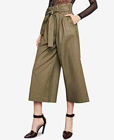 BCBGMAXAZRIA Isaac Cropped Paperbag Pants