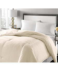 Royal Luxe Luxury Damask Stripe Full/Queen Feather & Down Comforter