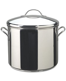Classic Series Stainless Steel 12-Qt. Stockpot & Lid