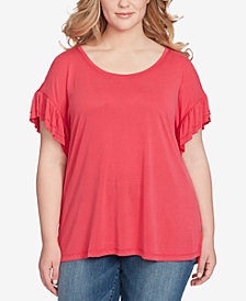 Jessica Simpson Trendy Plus Size Olympia T-Shirt