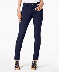 Style & Co Petite Ultra-Skinny Pants, Created for Macy's