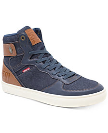Levi's® Men's Jeffrey Hi 501 Denim Sneakers