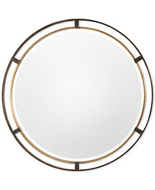 Uttermost Carrizo Bronze Round Mirror