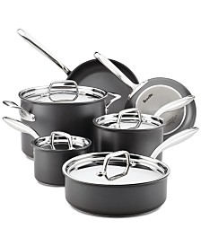 Breville Thermal Pro Hard-Anodized Non-Stick 10-Pc. Cookware Set