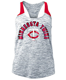 5th & Ocean Women's Minnesota Twins Space Dye Tank