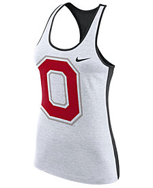 Nike Women's Ohio State Buckeyes Dri-Fit Touch Tank