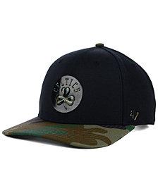 '47 Brand Boston Celtics Caster Camo MVP Cap