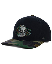 '47 Brand Los Angeles Lakers Caster Camo MVP Cap