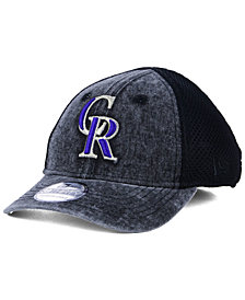 New Era Boys' Colorado Rockies Jr Hooge Neo 39THIRTY Cap