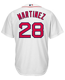 Majestic Men's J.D. Martinez Boston Red Sox Player Replica Cool Base Jersey