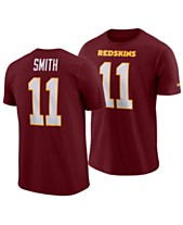 e990a0bbf Nike Men's Alex Smith Washington Redskins Pride Name and Number Wordmark T- Shirt
