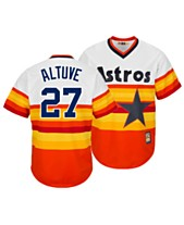 1011345b Majestic Men's José Altuve Houston Astros Cooperstown Player Replica Cool  Base Jersey