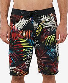 "O'Neill Men's Mondaze Tropical-Print Ultrasuede 20"" Board Shorts"