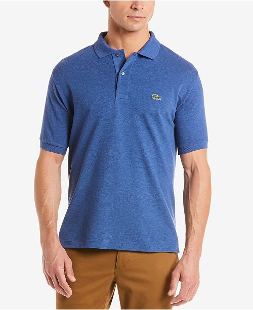b239925b77e7 Lacoste Men s Slim-Fit Polo   Reviews - Polos - Men - Macy s