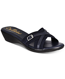 Callisto Babcock Strappy Wedge Sandals, Created for Macy's