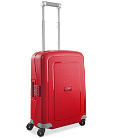 "Samsonite S'Cure 20"" Hardside Carry-On Spinner Suitcase"