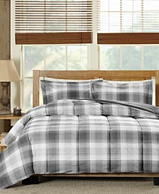 Woodsman Reversible 3-Pc. Full/Queen Comforter Set