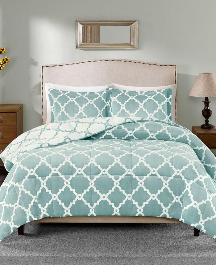 Sleep Philosophy - Peyton Reversible 3-Pc. King Comforter Set