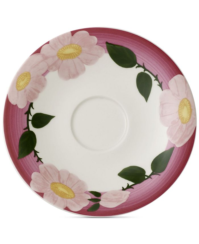 Villeroy & Boch - Rose Sauvage Framboise Breakfast Cup Saucer