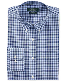 Lauren Ralph Lauren Men's Classic Fit Plaid Cotton Dress Shirt