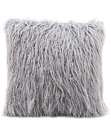 "Zuo Angie Gray 17.7"" x 17.7"" Decorative Pillow"