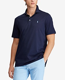 Men's Classic-Fit Soft Cotton Polo, Regular and Big & Tall