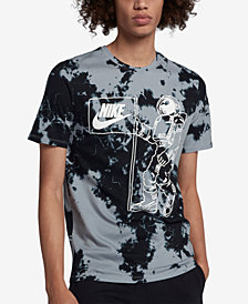 Nike Men's Sportswear Graphic Tie-Dyed T-Shirt