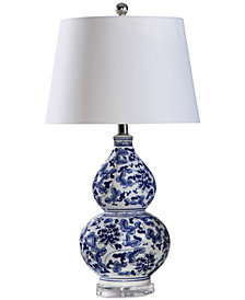 Abbyson Living Stanbury Blue Table Lamp