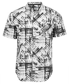 LRG Men's Parliament Printed Shirt