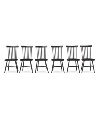 Bensen Dining Chair, 6-Pc. Set (Set of 6 Chairs), Created for Macy's