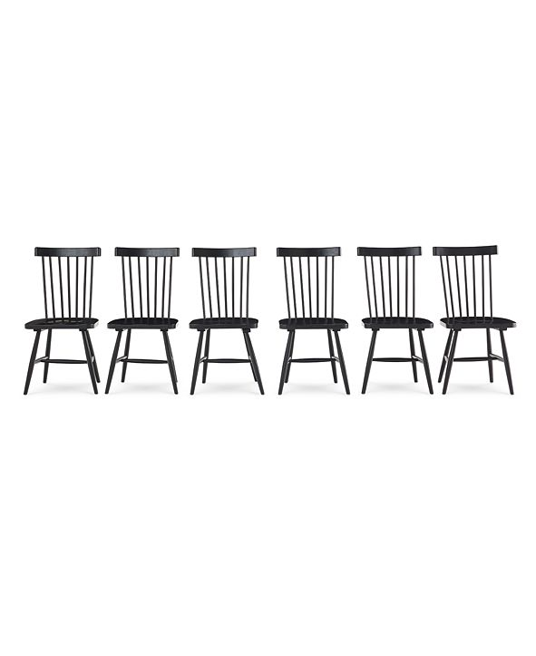 Furniture Bensen Dining Chair, 6-Pc. Set (Set of 6 Chairs), Created for Macy's