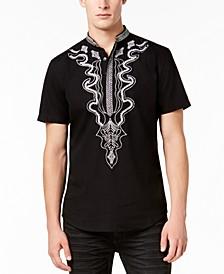 INC Men's Dashiki Shirt, Created for Macy's
