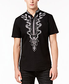 I.N.C. Men's Dashiki Shirt, Created for Macy's