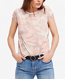 Free People Clare Printed T-Shirt