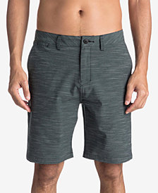 """Quiksilver Men's Union Textured Amphibian 20"""" Hybrid Shorts"""