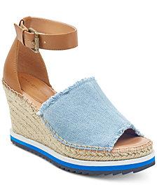 Tommy Hilfiger Yavino Espadrille Platform Wedge Sandals